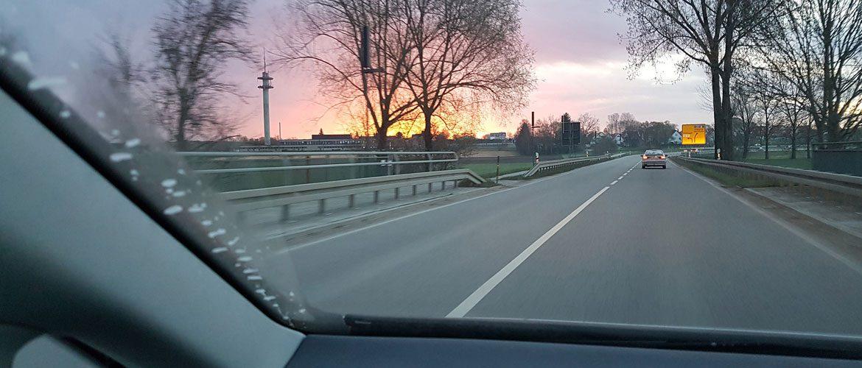 Auf dem Weg zum Seminar in Riedenburg.